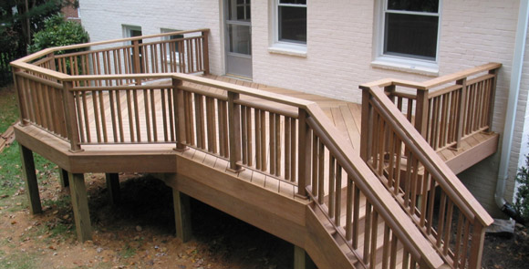 Ipe back deck
