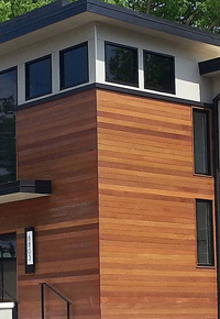 Jatoba is great for siding as well