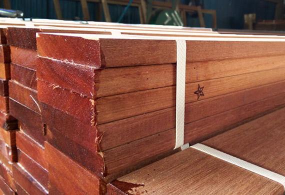 Red Balau boards