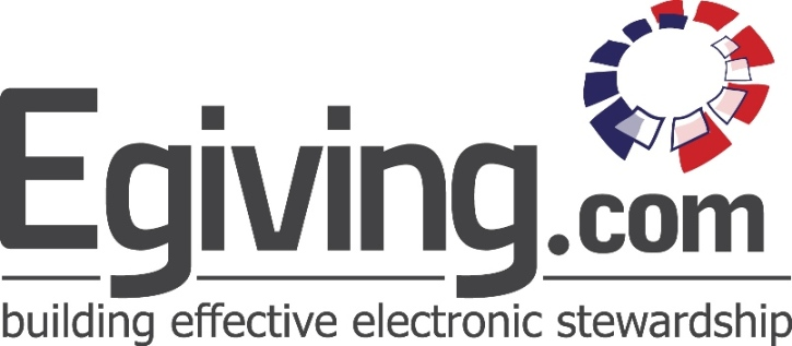 E giving