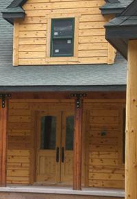 douglas fir cabin
