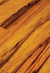 Ofram (a sustainable African hardwood) finished with Tung Oil