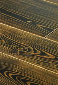 Reclaimed (antique) wide plank heart Pine flooring