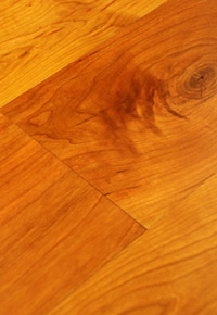 Rehmeyer Pioneer Collection: Cherry Hardwood Flooring with Soft Edge