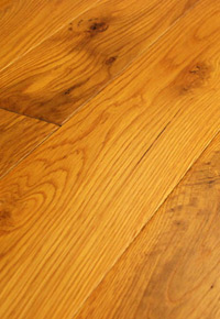 Rehmeyer Pioneer Collection: White Oak Hardwood Flooring with Soft Edge