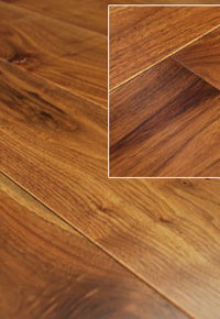 Rehmeyer's MIlano Walnut Hardwood Floors