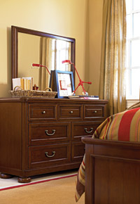 roughhouse smartstuff dresser with mirror