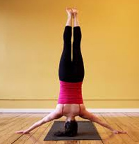 head stands