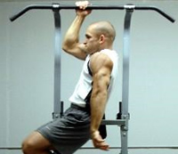 one armed pull ups