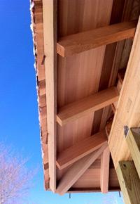 Western Redcedar eaves
