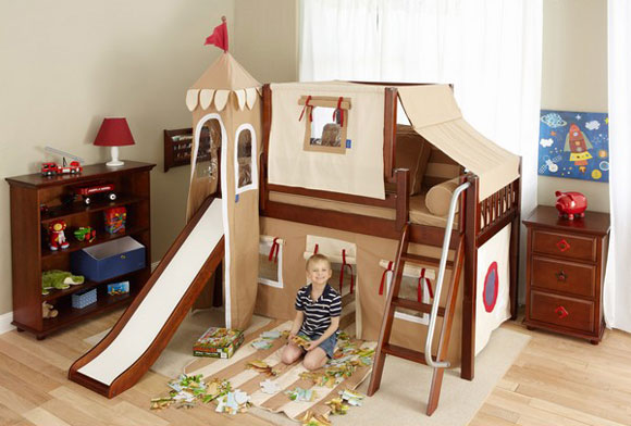 maxtrix boys play fort bed