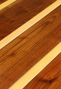 Rehmeyer Extreme Floors: Walnut & Maple Striped
