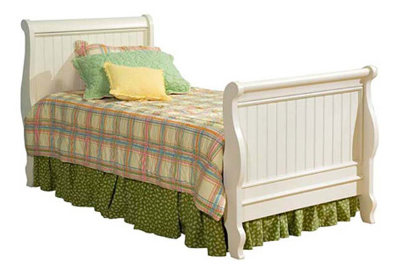 summer breeze sleigh bed
