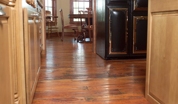 Rehmeyer Handscraped Cherry Hardwood Flooring