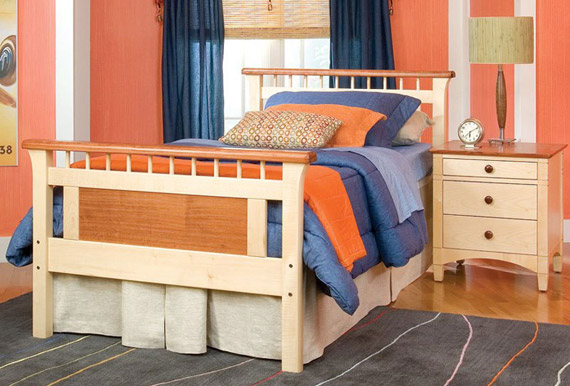 Bennington twin bed
