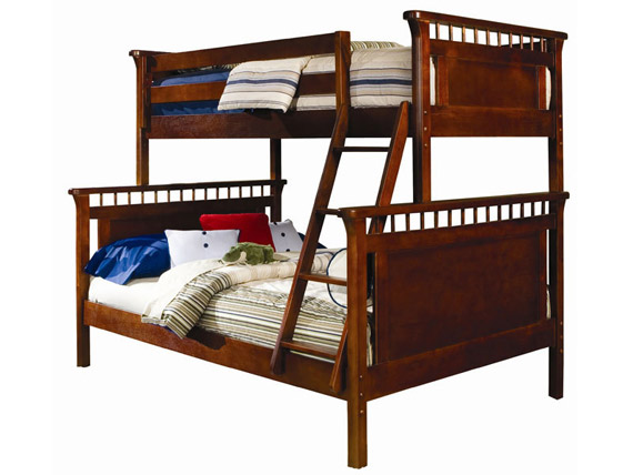 Bennington bunk bed twin over full (Cherry)