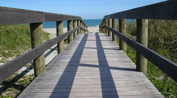 cocoa beach ipe boardwalk