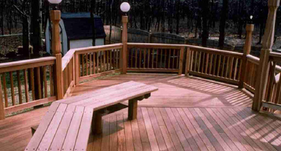 ipe deck construction