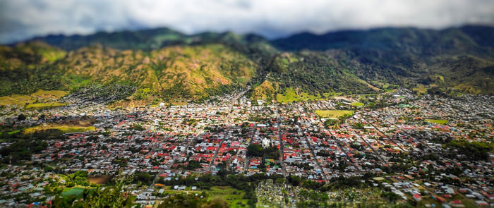 City of Jinotega, Nicaragua