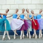 teen ballerina girls ready for recital performance