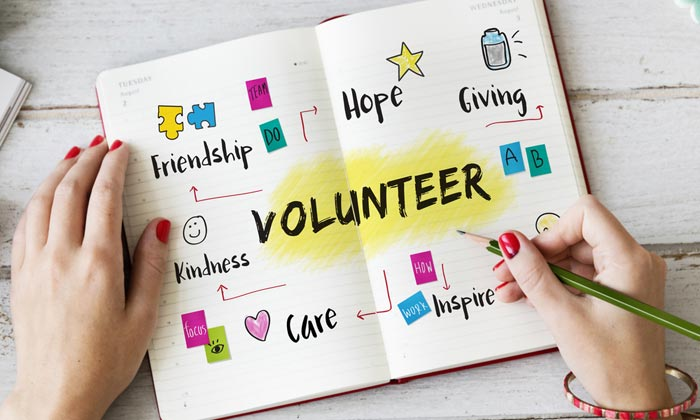 volunteer scrapbook