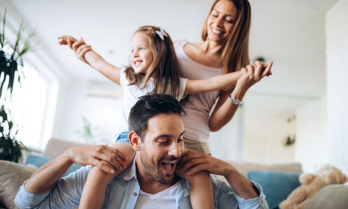 happy family pyramid