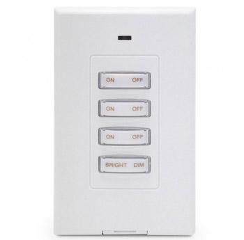 PHW04D Slim RF Wall Transmitter Remote Control