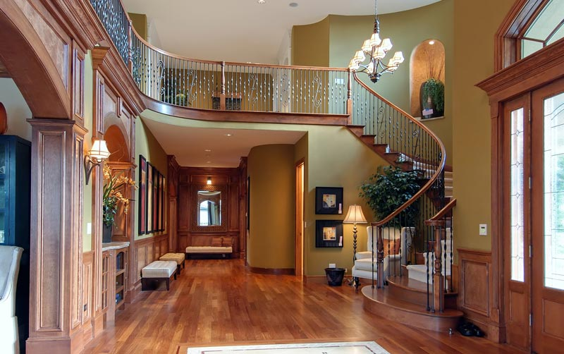 fancy home interior ready for automation